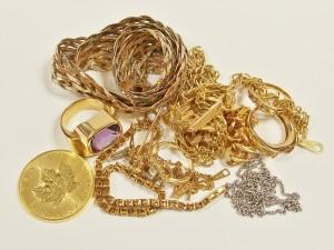 金製品 リング ネックレス コイン等