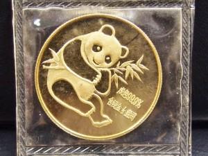 パンダ金貨 ①