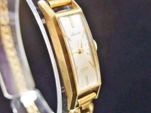 ladyseiko k18 手巻き時計