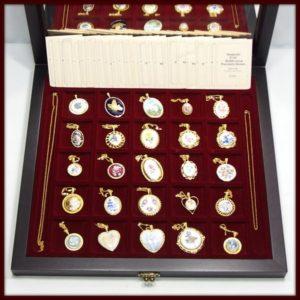 世界の名窯 ペンダントコレクション 25個セット