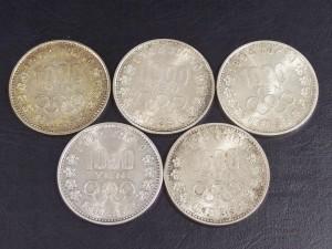 1000円 銀貨