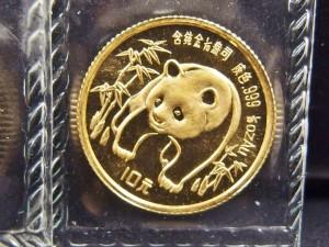パンダ金貨 ③