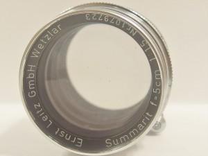 ライカ ズマー Summarit f1.5 5cm
