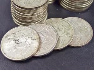 100円銀貨 鳳凰
