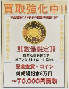 御成婚記念5万円