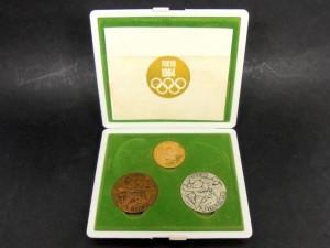【東京オリンピック】1964年 K18 金銀銅メダルセット